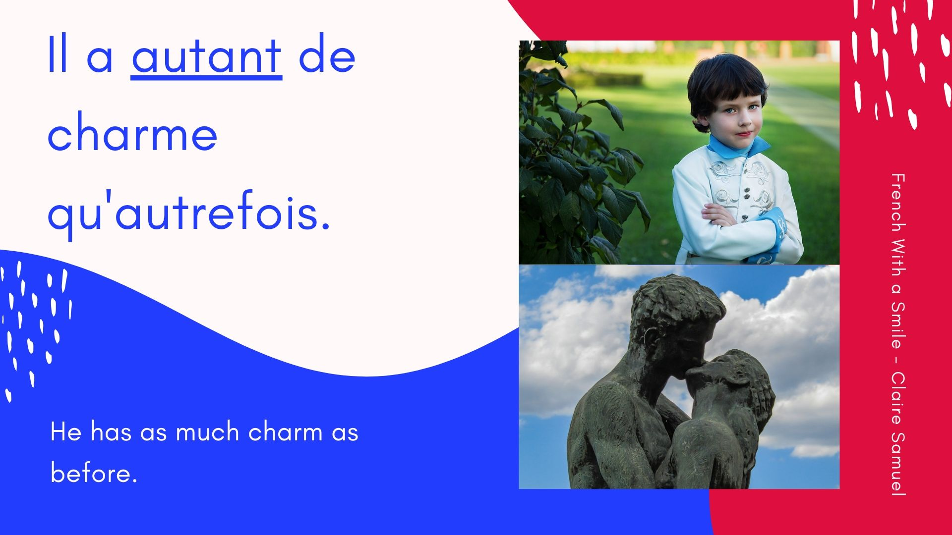 Intermediate #8 How to use AUTANT in #French? examples