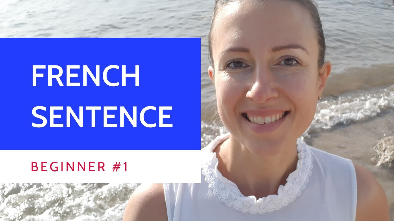 Learn how to create an easy sentence in French with a subject and a verb.