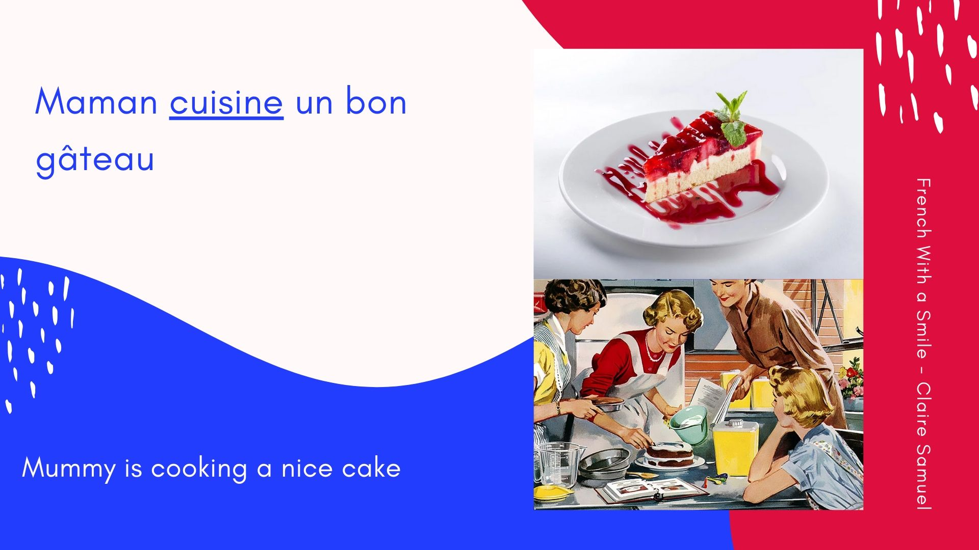 Beginner #8 What are the two ways of saying TO COOK in #French?