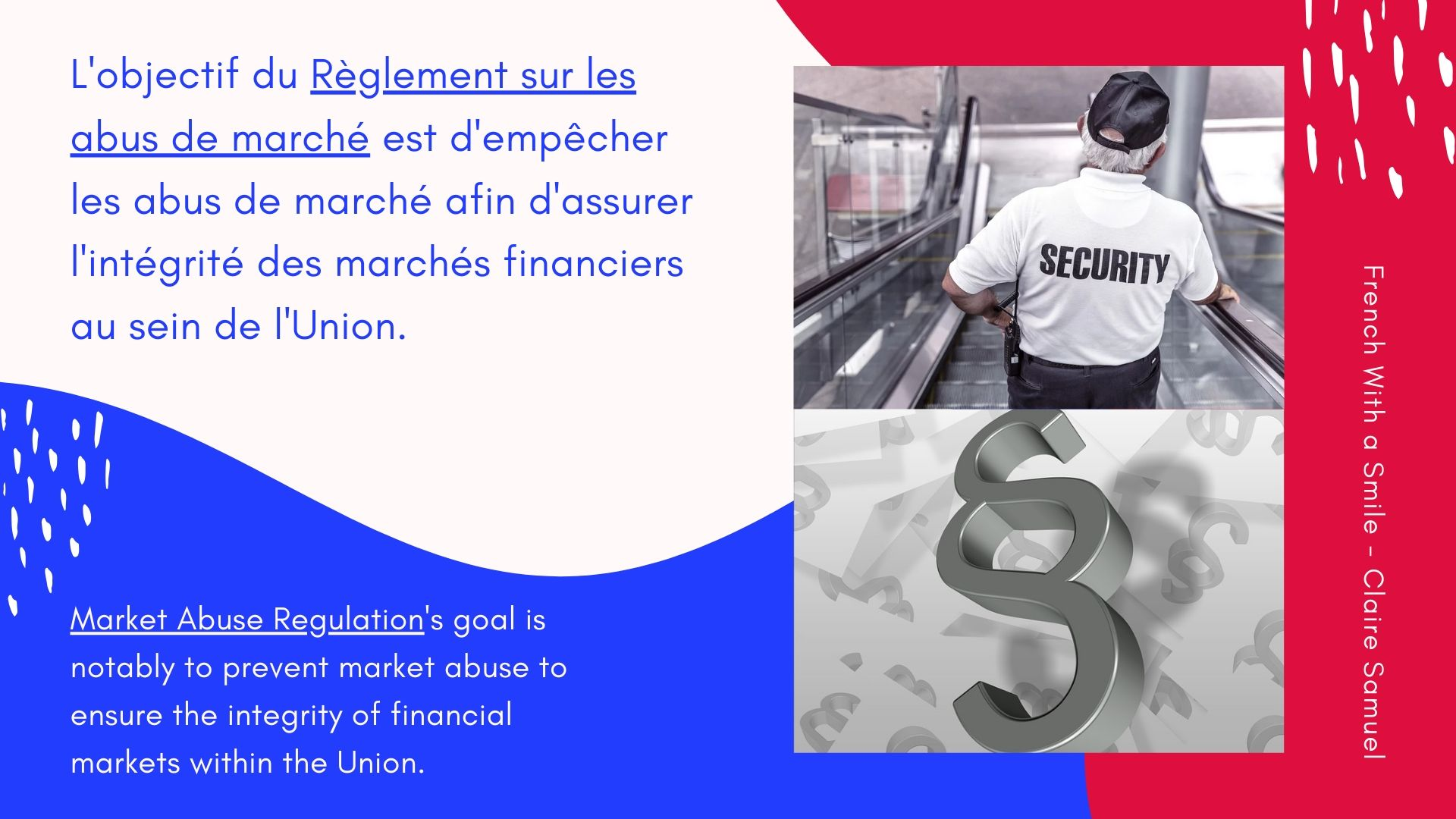 Intermediate #9 Finance vocabulary in #French