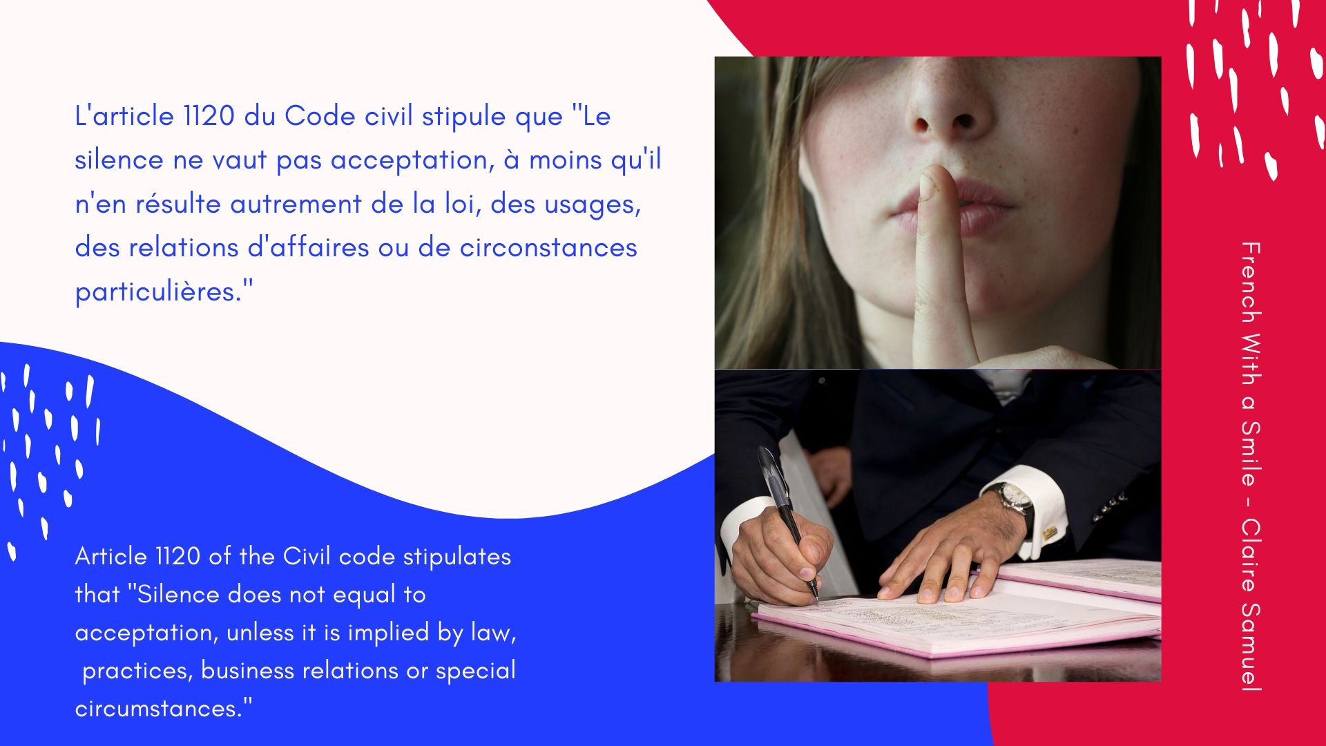 Advanced #13 Introduction to #French #contract law