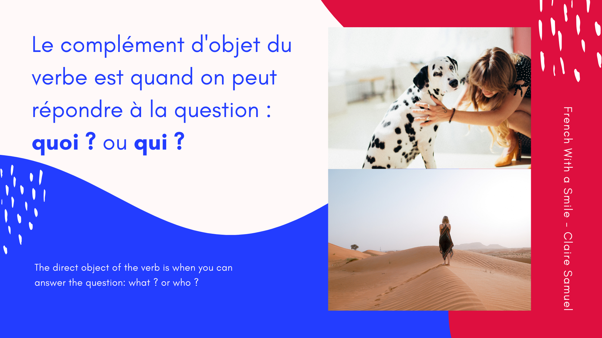 Beginner #17 What is the #passive voice in #French?