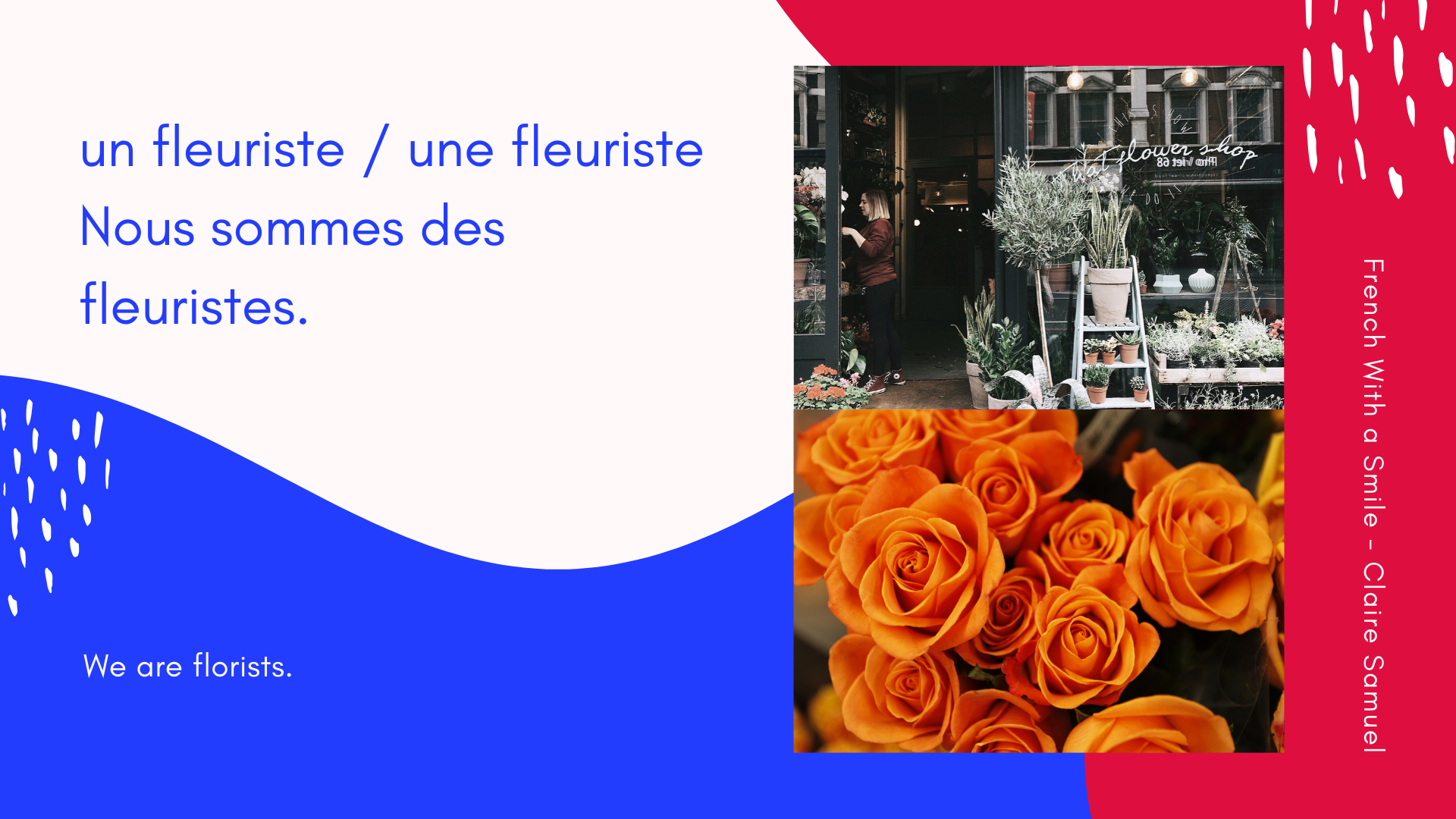 Beginner #18 #Jobs #vocabulary in #French masculine and feminine with #phrases