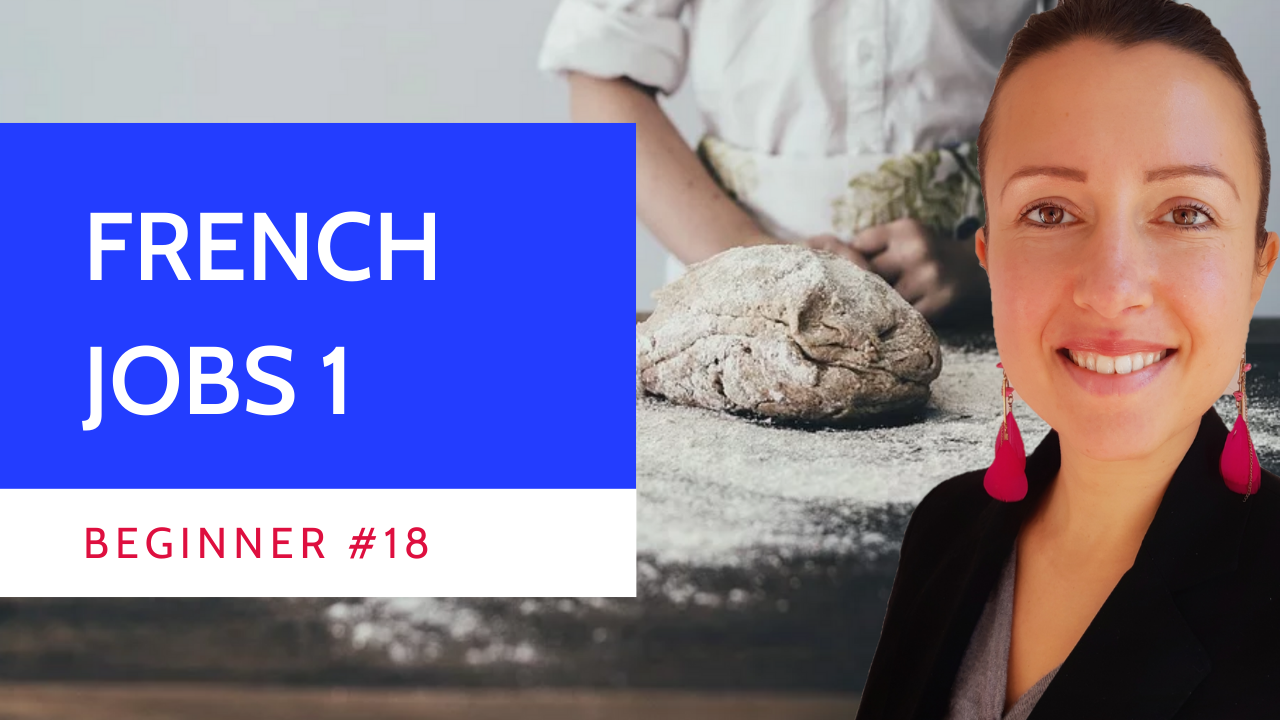 Beginner #18 #Jobs #vocabulary in #French masculine and feminine with #phrases 1