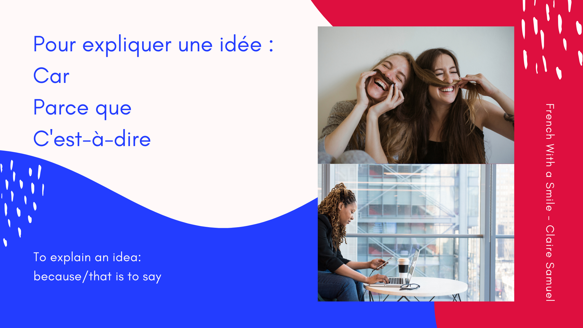 Intermediate #18 How to structure an essay in #French? writing skills to express ideas #keywords