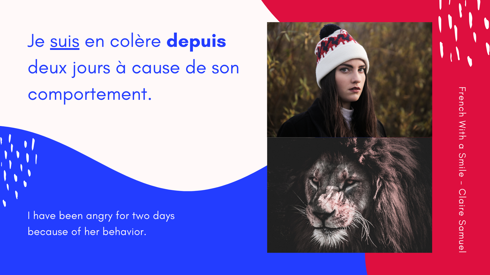 Intermediate #19 Why Have Been is translated by the Present tense and #depuis in #French