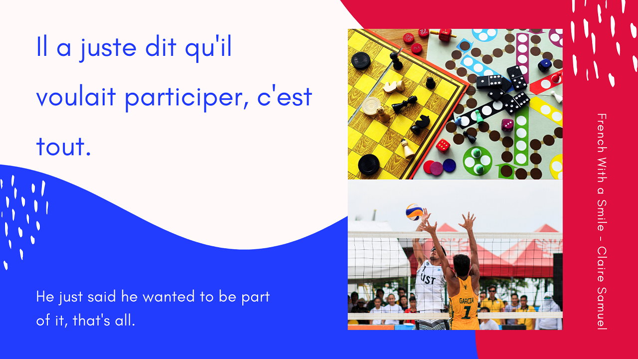 Intermediate #23 French verb explained Venir de faire quelque chose To have just done something