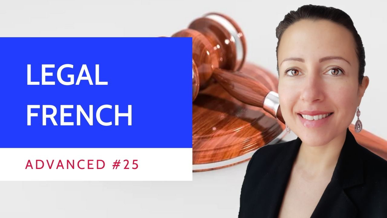 Advanced #25 Legal French on non-retroactivity of criminal laws principle or rétroactivité in mitius
