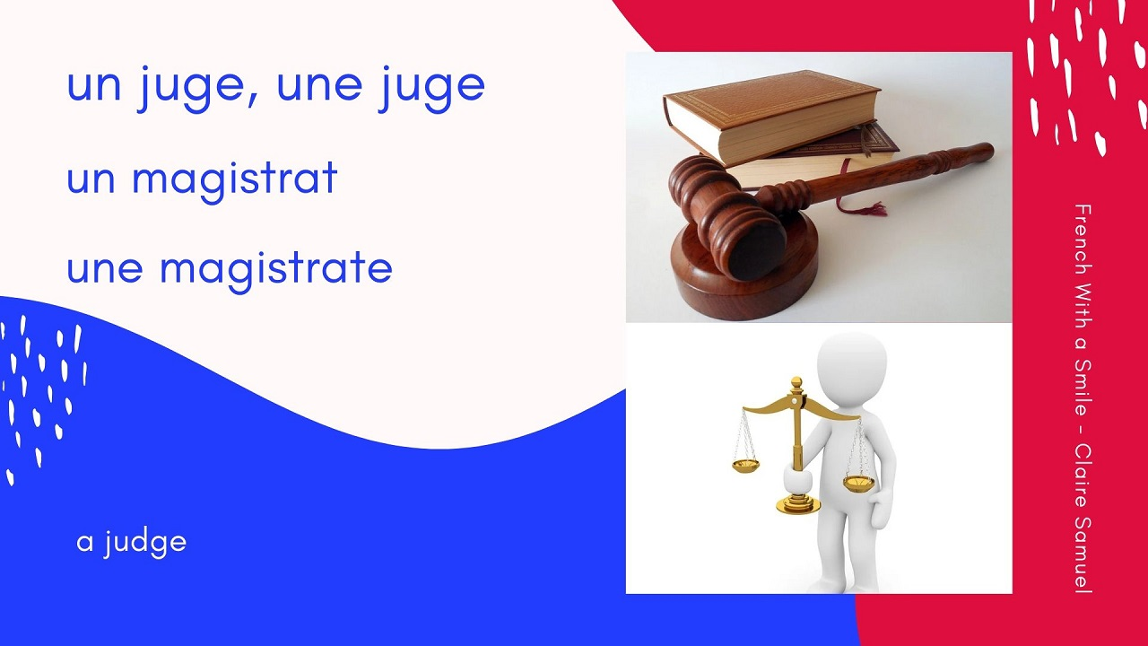Beginner #27 Easy French Legal vocabulary
