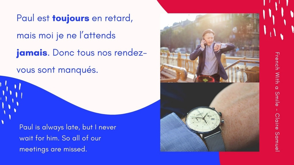 Intermediate #30 French adverbs about frequence always never often sometimes