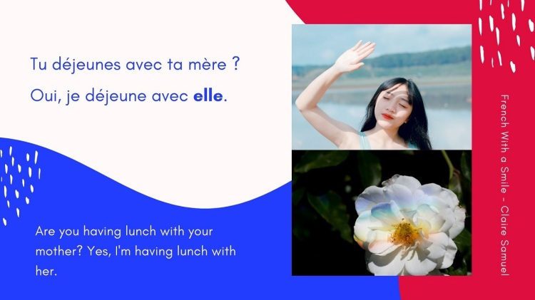 Beginner #33 Stress pronouns in French