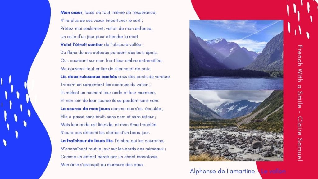 Advanced #39 French poetry Lamartine