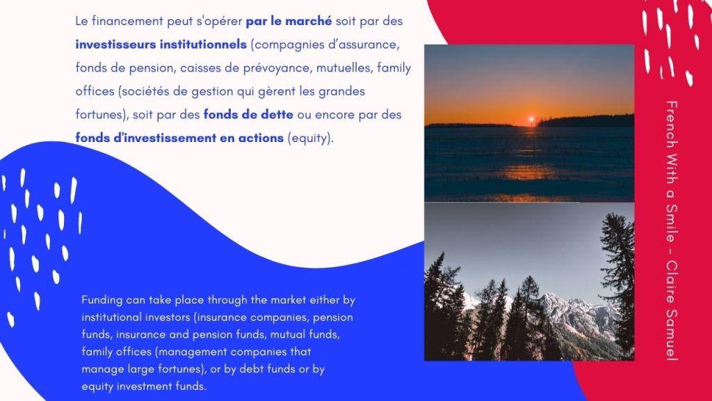 Advanced #47 French finance lesson Financement des entreprises en Europe