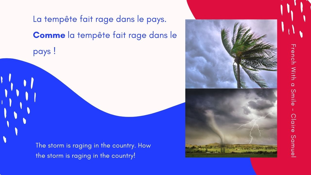 Intermediate #48 French phrases exclamatives with Comme