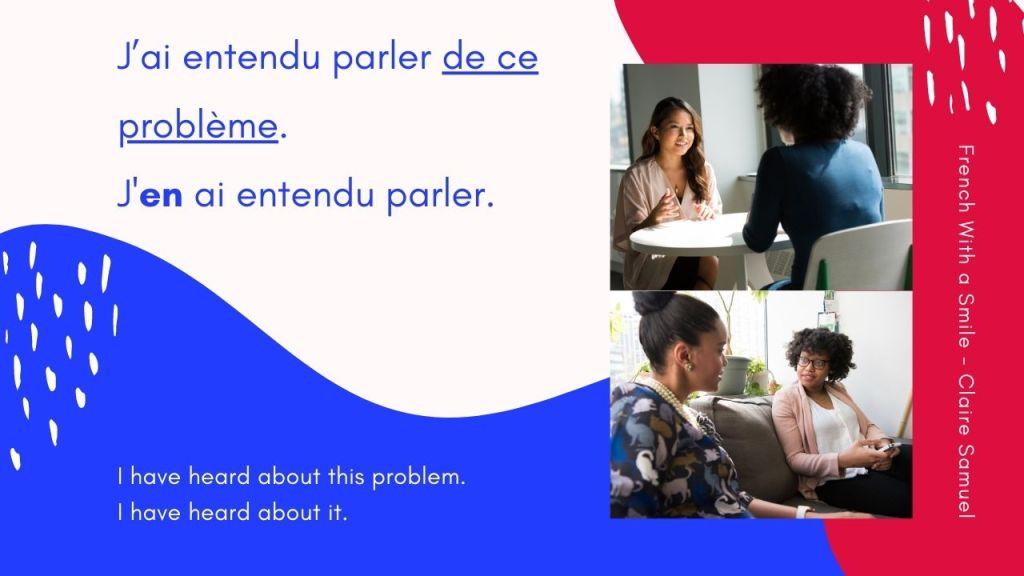 Intermediate #56 The French pronoun EN