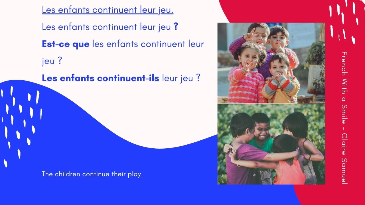Beginner #59 How to ask questions in French?