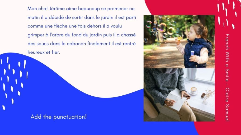 Intermediate #62 French punctuation