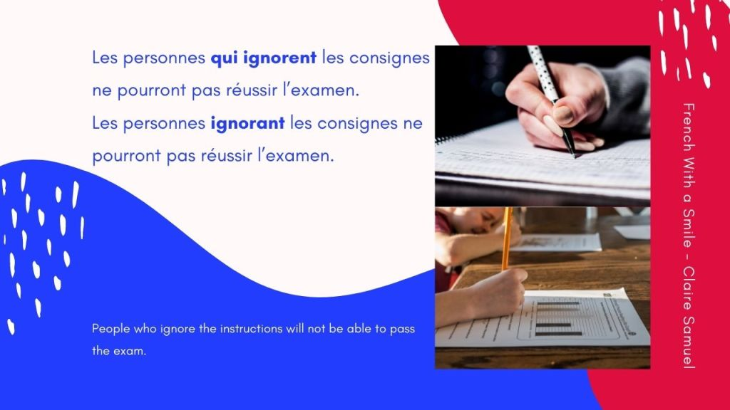 Intermediate #63 French Participe présent explained