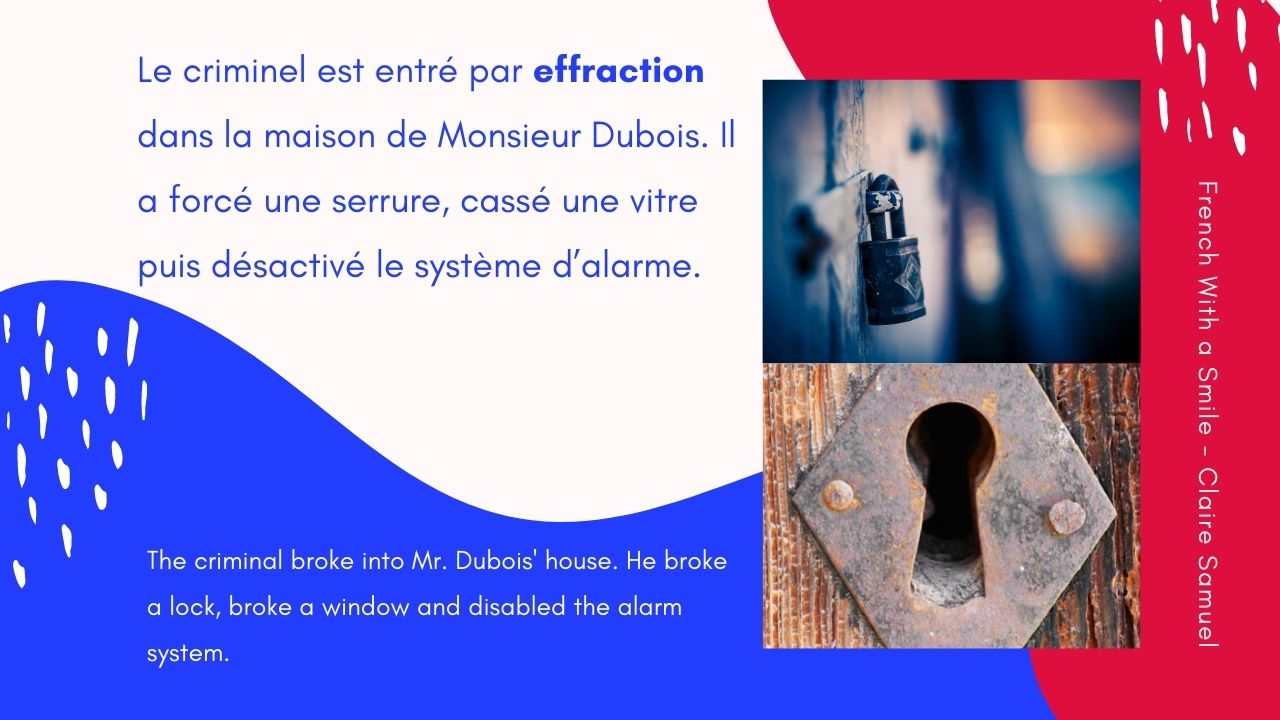 Advanced #64 Effraction or infraction ? French vocabulary