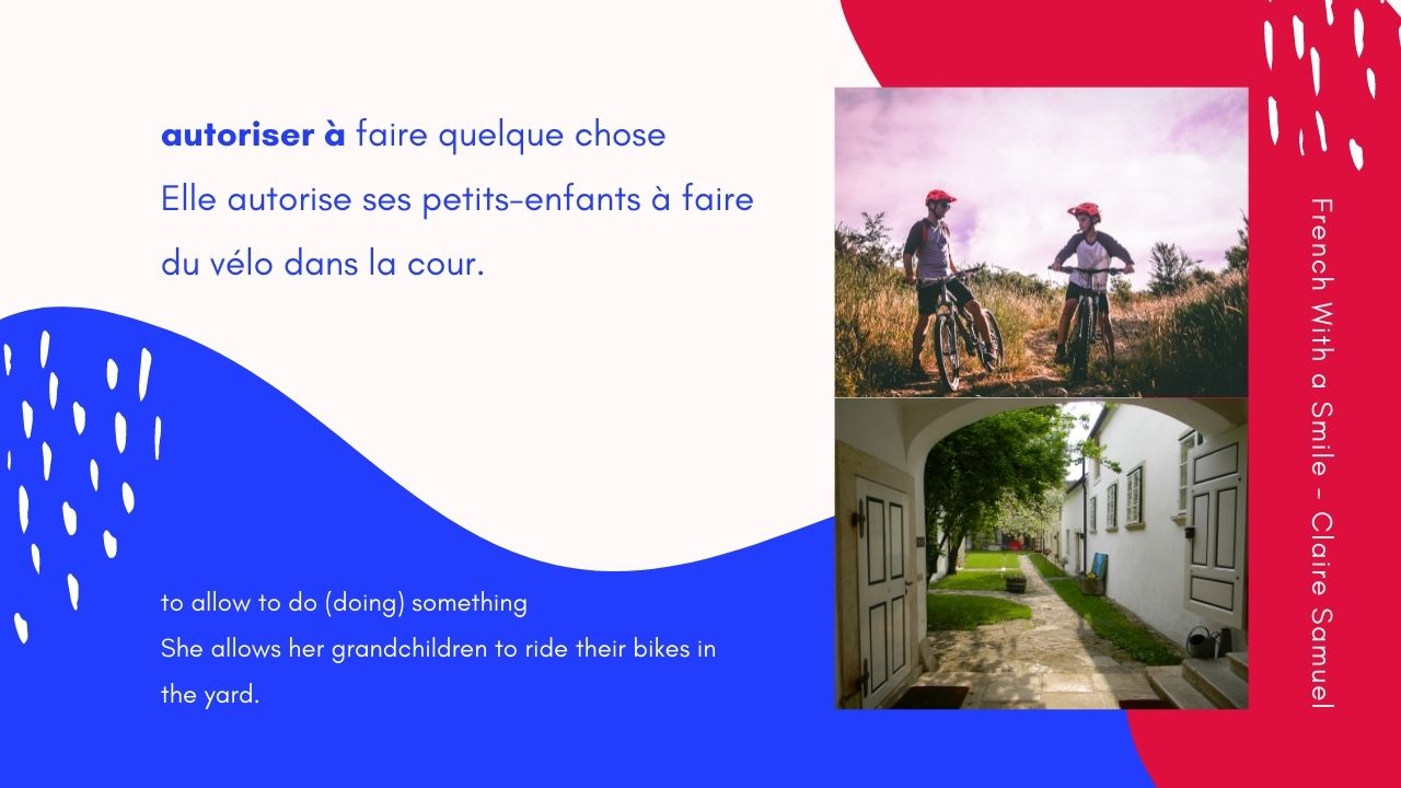 Intermediate #66 French verbs followed by the preposition à and an infinitive